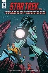 Star Trek Vs Transformers #3 (Of 5) Cvr B Fullerton Of 5) Cvr B Fullerton