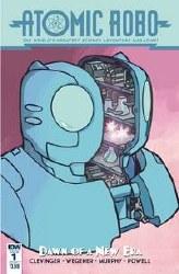 Atomic Robo & Dawn Of New Era#1 (Of 5) Cvr A Wegener #1 (Of 5) Cvr A Wegener