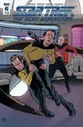 Star Trek Tng Terra Incognita#6 Cvr A Shasteen #6 Cvr A Shasteen