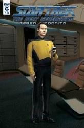 Star Trek Tng Terra Incognita#6 Cvr B Photo #6 Cvr B Photo