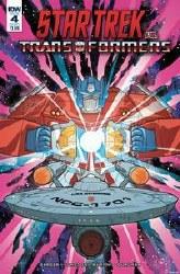 Star Trek Vs Transformers #4 (Of 5) Cvr A Murphy Of 5) Cvr A Murphy