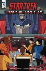 Star Trek Vs Transformers #4 (Of 5) Cvr B Tramontano Of 5) Cvr B Tramontano