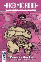 Atomic Robo & Dawn Of New Era#3 (Of 5) Cvr A Wegener #3 (Of 5) Cvr A Wegener