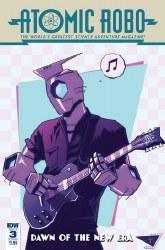 Atomic Robo & Dawn Of New Era#3 (Of 5) Cvr B Burcham #3 (Of 5) Cvr B Burcham