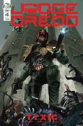 Judge Dredd Toxic #4 Cvr B Gallagher lagher