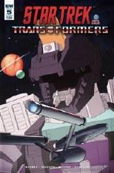Star Trek Vs Transformers #5 (Of 5) Cvr B Burcham Of 5) Cvr B Burcham