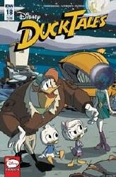 Ducktales #18 Cvr B Ghiglione Stella (C: 1-0-0) Stella (C: 1-0-0)