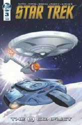 Star Trek Q Conflict #3 (Of 6)Cvr B Messina Cvr B Messina