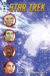 Star Trek Q Conflict #4 (Of 6)Cvr A Messina Cvr A Messina