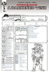 Dungeons & Dragons A Darkened Wish #3 (Of 5) Cvr B Character Wish #3 (Of 5) Cvr B Character