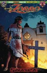 Zorro Sacrilege #4 Hilinski Possession Cvr ssession Cvr