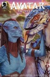 Avatar Tsu Teys Path #4 Cvr BStandefer Standefer