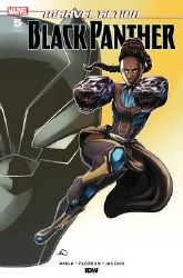 Marvel Action Black Panther #5 1:10 Incentive Ashley Woods Variant Cover