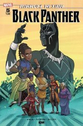 Marvel Action Black Panther #5 Cover A