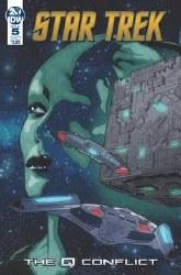 Star Trek Q Conflict #5 (Of 6)Cvr A Messina Cvr A Messina