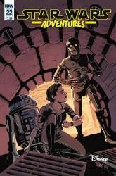 Star Wars Adventures #22 Cvr A Charretier (C: 1-0-0)  Charretier (C: 1-0-0)