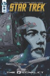 Star Trek Q Conflict #5 (Of 6)Cvr B Messina Cvr B Messina
