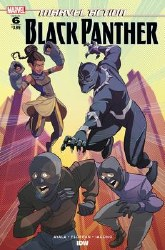 Marvel Action Black Panther #6 Cover A Variant Arianna Florean Cover