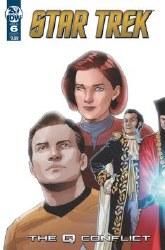 Star Trek Q Conflict #6 (Of 6)Cvr A Messina Cvr A Messina