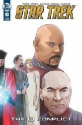 Star Trek Q Conflict #6 (Of 6)Cvr B Messina Cvr B Messina