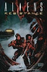 Aliends Resistance Trade Paperback )