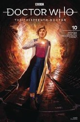Doctor Who 13th #10 Cvr B Photo o