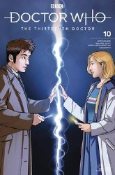 Doctor Who 13th #10 Cvr C 10thDoctor Doctor