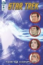 Star Trek Q Conflict #4 (Of 6)Cvr B Messina Cvr B Messina