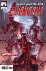 Avengers #22 Junggeun Yoon Carnage-Ized Var nage-Ized Var