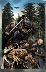 Knights Temporal #1 Cover C Incentive Mike Rooth Lenticular Variant Cover
