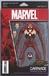 Absolute Carnage #1 (of 5) Cover C John Tyler Christopher Action Figure Variant