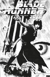 Blade Runner 2019 #3 Cover D Butch Guice Black & White Sketch Variant