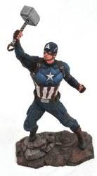 Marvel Movie Gallery Avengers Endgame Captain America PVC Statue
