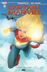 Marvel Action Captain Marvel #3 Cover B 1:10 Yasmine Montanez Incentive Cover