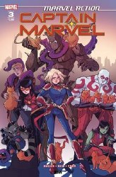 Marvel Action Captain Marvel #3 Cover A