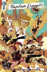 Napoleon Dynamite #2 (of 4) 1:10 Incentive Jorge Monlongo Variant Cover