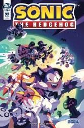 Sonic The Hedgehog #22 1:10
