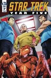 Star Trek Year Five #7 Cvr A Thompson hompson