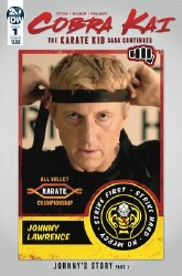 Cobra Kai Karate Kid Saga Continues #1 (Of 4) Cvr B Photo inues #1 (Of 4) Cvr B Photo
