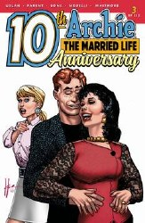 Archie Married Life 10 Years Later #3 Cvr B Chaykin ater #3 Cvr B Chaykin