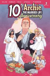 Archie Married Life 10 Years Later #3 Cvr C Sauvage ater #3 Cvr C Sauvage