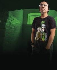 DC The Joker Purfect Crime T-Shirt 2-XL