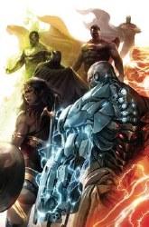 Justice League #34 Card Stock Var Ed Yotv Var Ed Yotv