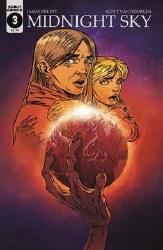 Midnight Sky #3 Cover B Variant Scott Van Domelen War Of The Worlds Homage Cover