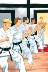 Cobra Kai Karate Kid Saga Continues #2 (of 4) Cover A Regular Kagan McLeod Cover