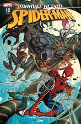 Marvel Action Spider-Man #12 Cover B 1:10 Incentive Jonboy Meyers Variant Cover