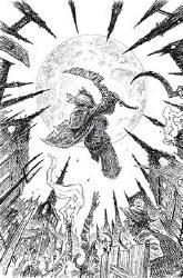 Bloodborne #13 Sdcc 2019 B&W Var Cvr (Mr) ar Cvr (Mr)