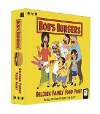 Bob's Burgers Belcher Family Food Fight Board Game