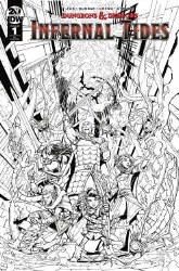 Dungeons & Dragons Infernal Tides #1 Cover C Incentive Max Dunbar 1:10 Variant Cover