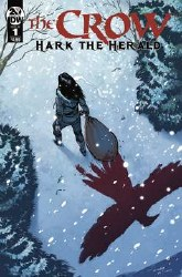 Crow Hark The Herald #1 Cover A Regular Tim Seeley Cover